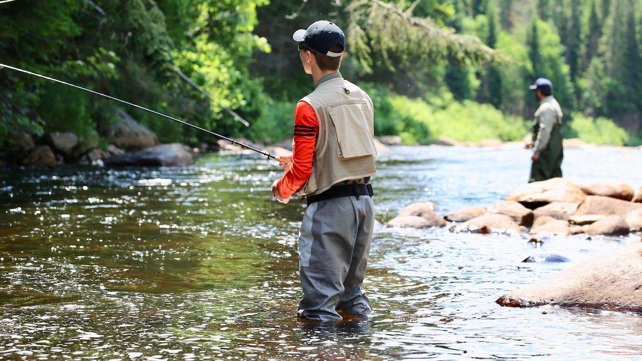 Pêche en rivière a la manière Tenkara