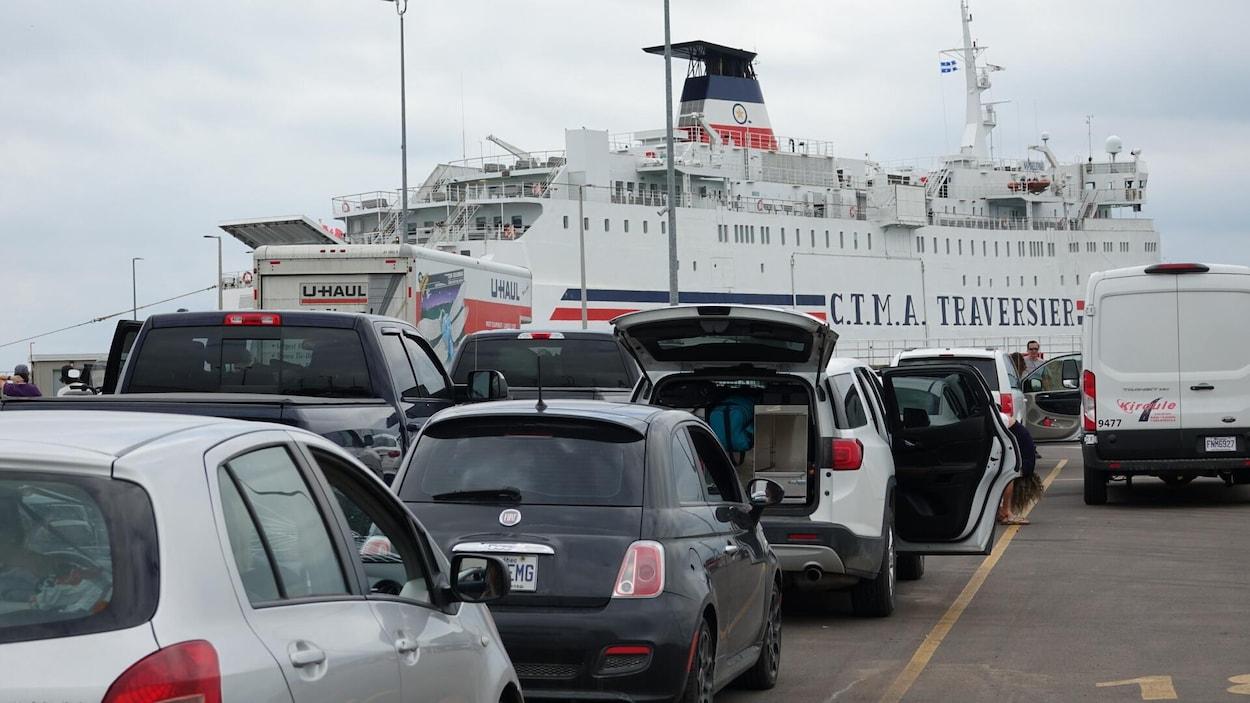 Le port de Souris, à l'Île-du-Prince-Édouard.
