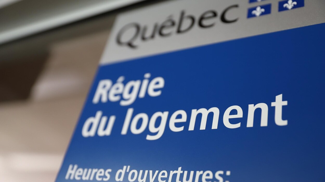 Le bureau de la Régie du logement, à Québec