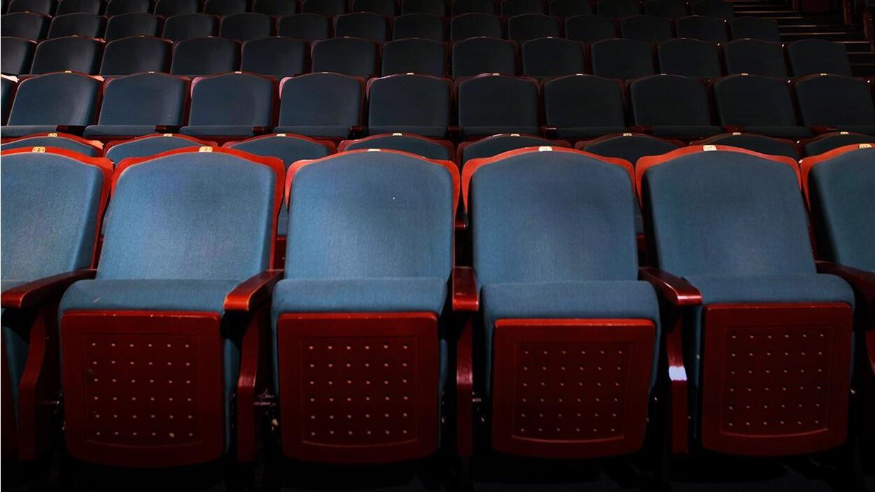 Une salle de spectacle vide