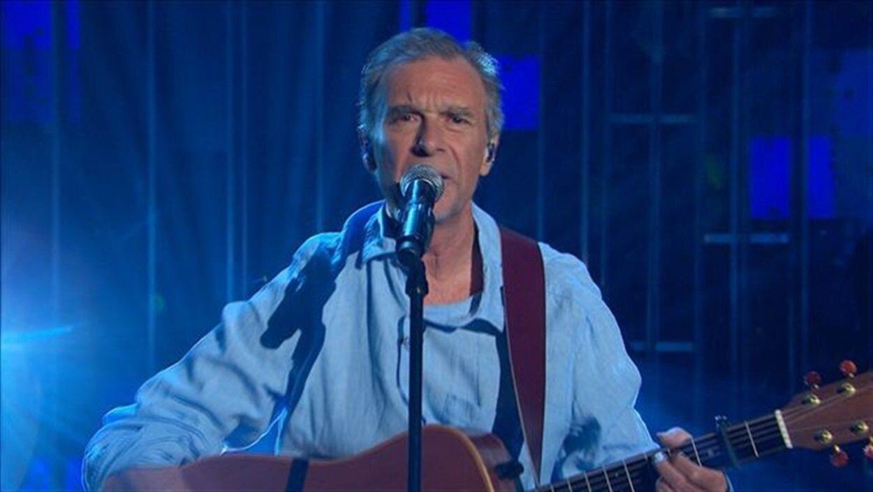 Prestation de Zachary Richard à l'émission de Pénélope McQuade 15 août 2012