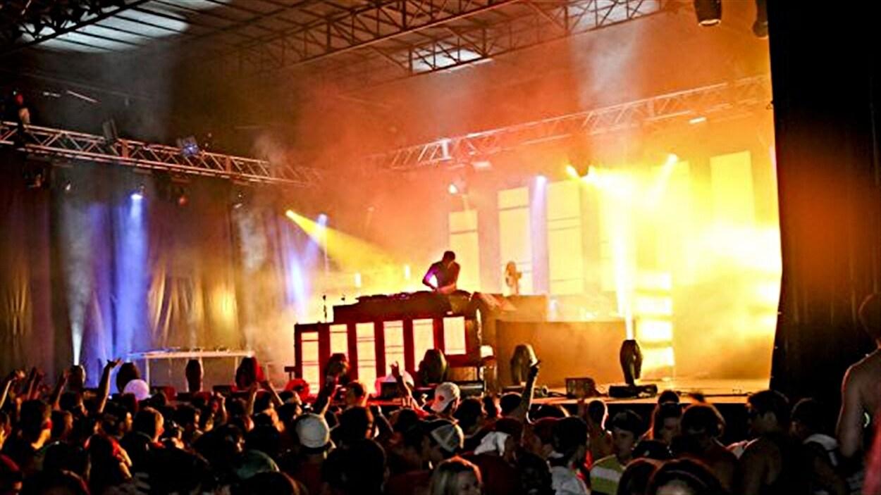Le festival de musique électronique Escapade d'Ottawa (archives).