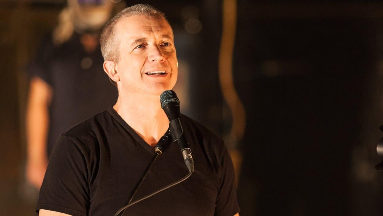 Le chanteur Dan Bigras