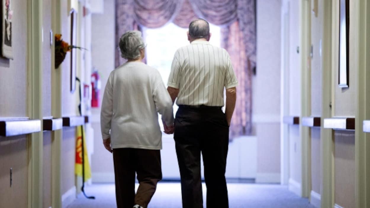 Démence chez les personnes âgées.