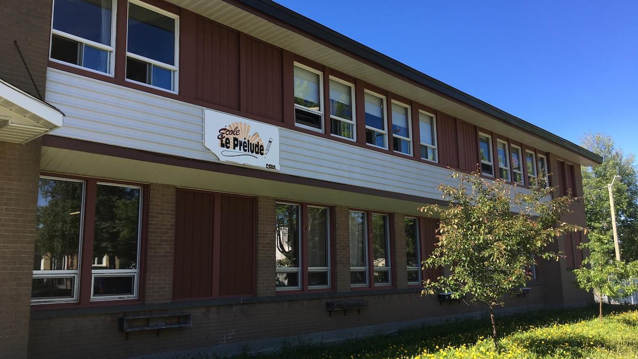 L'école Le Prélude de Rouyn-Noranda.