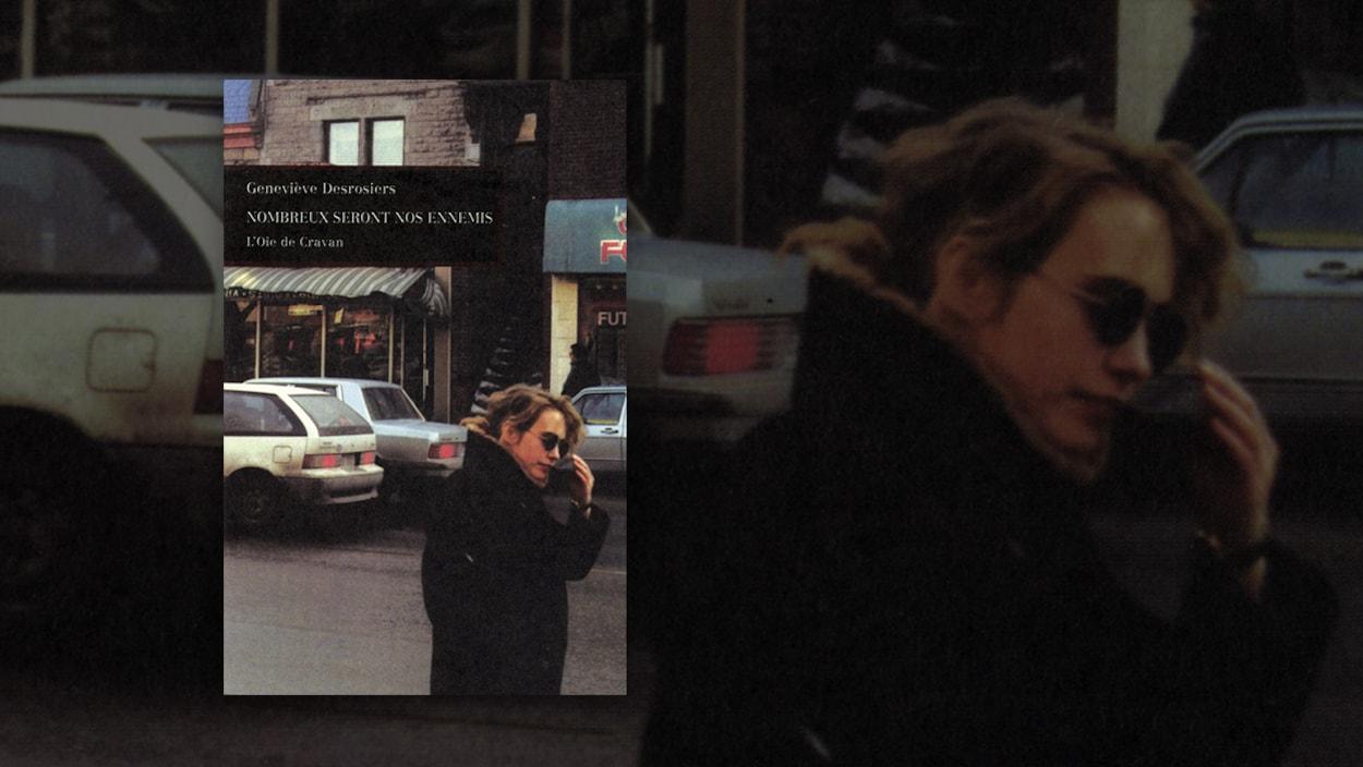 Une photo d'une femme qui porte des lunettes fumées.