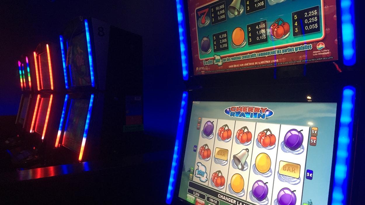 Des appareils de loterie vidéo