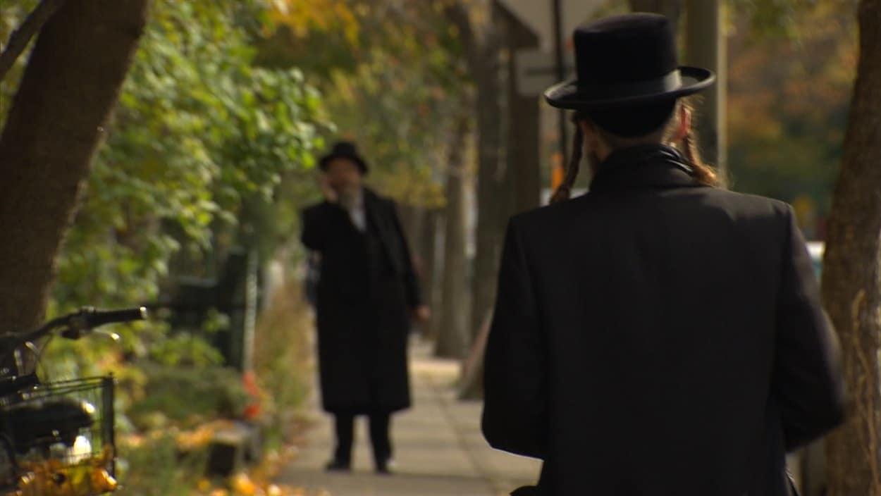 Des juifs hassidiques à Outremont
