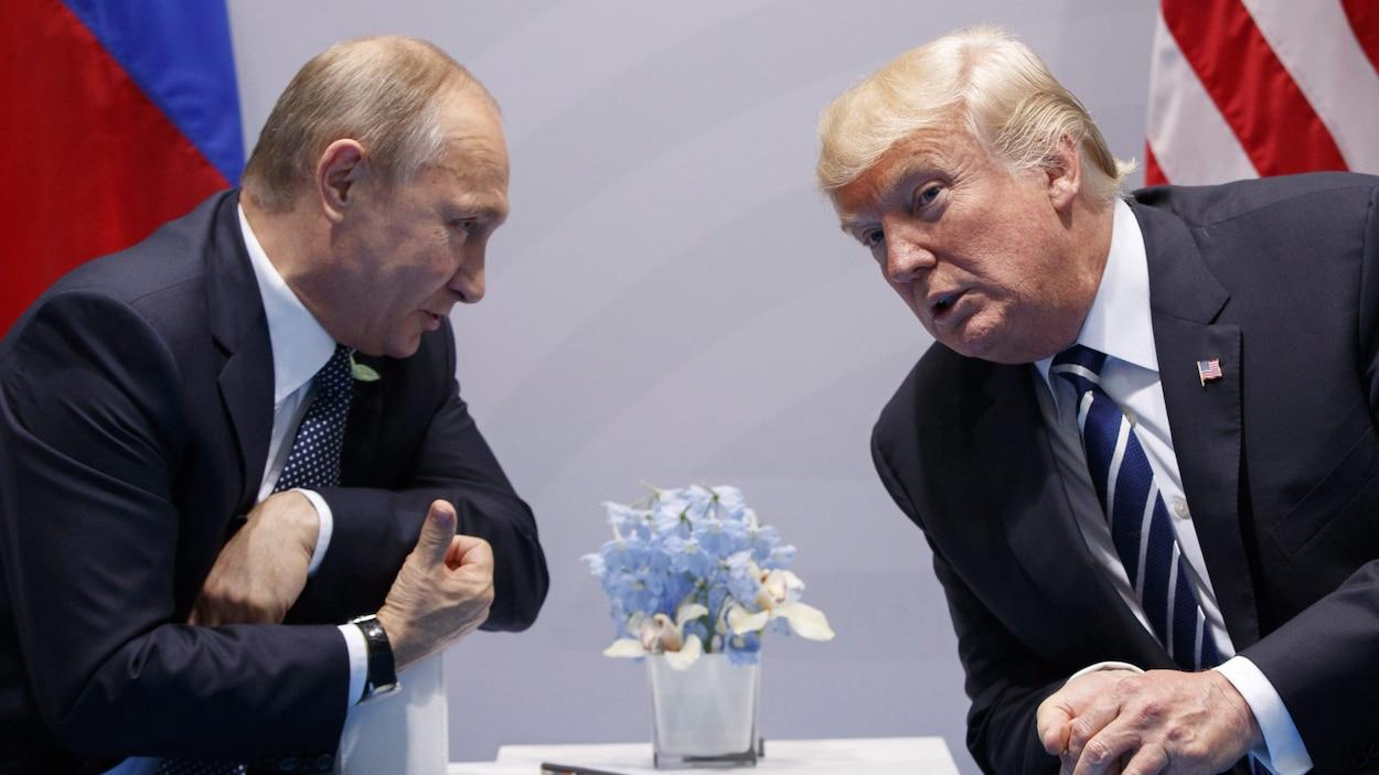 Trump, bien trop proche de Poutine