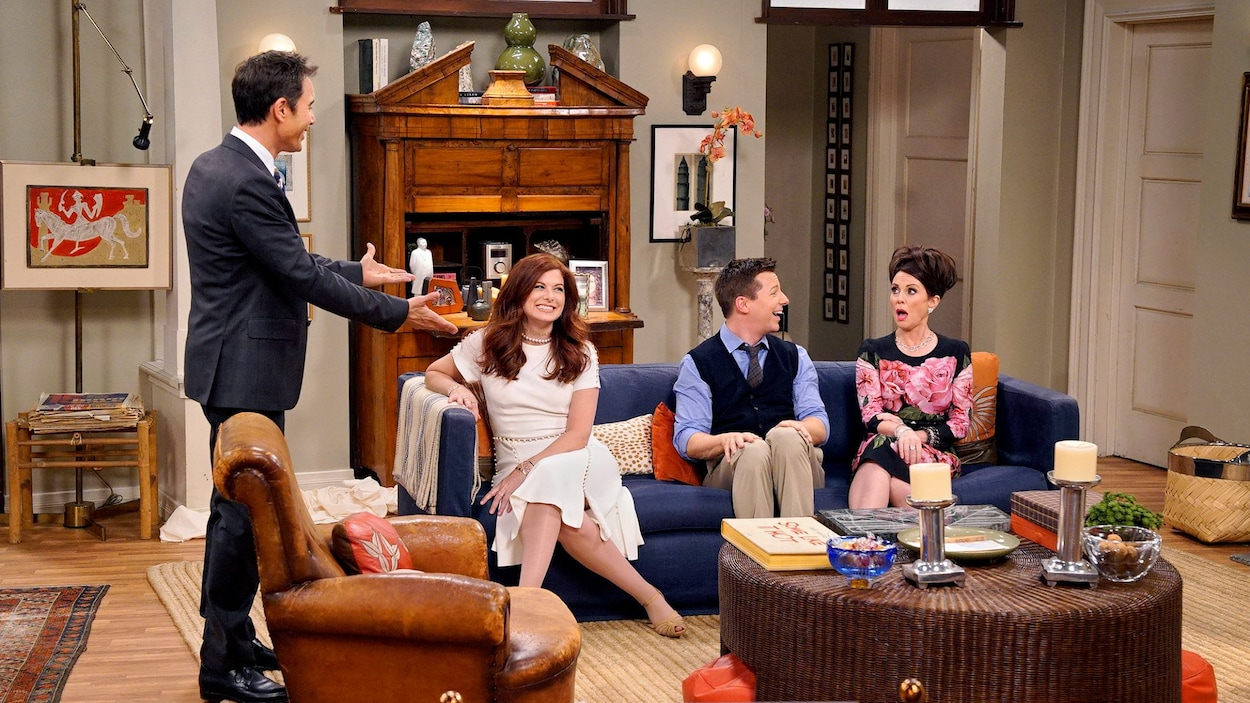 Image de la comédie  Will and Grace