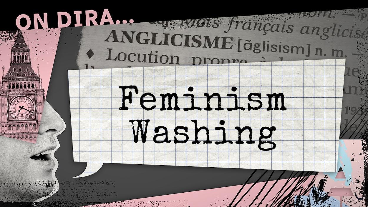 Désigne une opération de relations publiques menée par une organisation pour revendiquer leur engagement en faveur de l'égalité entre les hommes et les femmes alors que la réalité est tout autre
