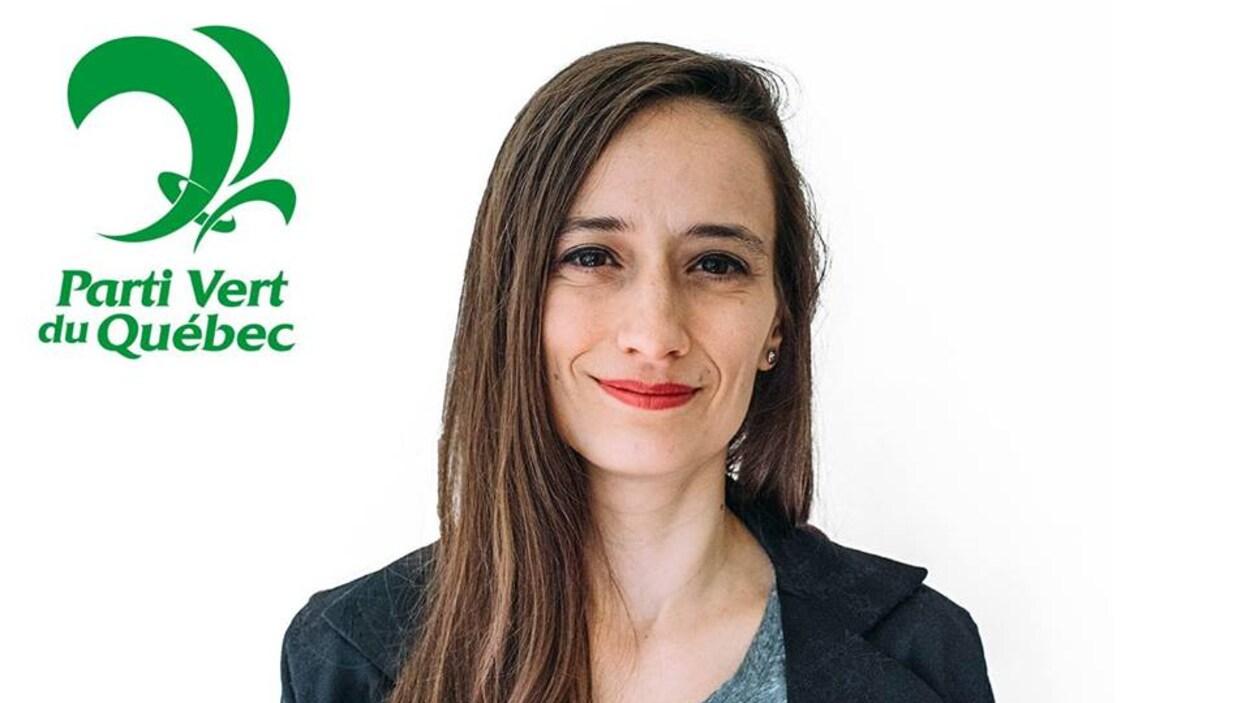 Jessica Wells se présente pour le Parti vert dans la circonscription Rouyn-Noranda-Témiscamingue lors de l'élection provinciale de 2018.