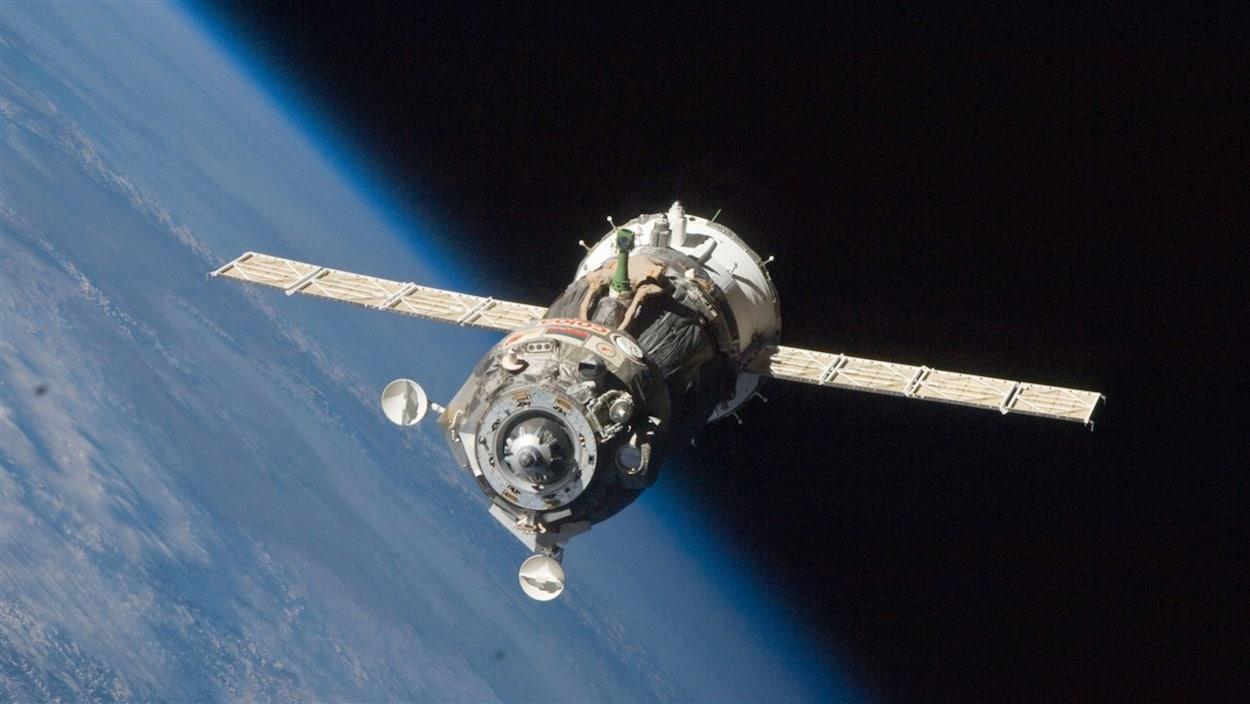 Un vaisseau russe Progress ravitaille la Station spatiale internationale (archives)