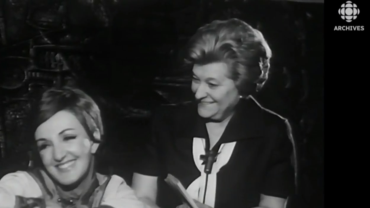 Yvette Brind'Amour et Mercedes Palomino en entrevue en 1970
