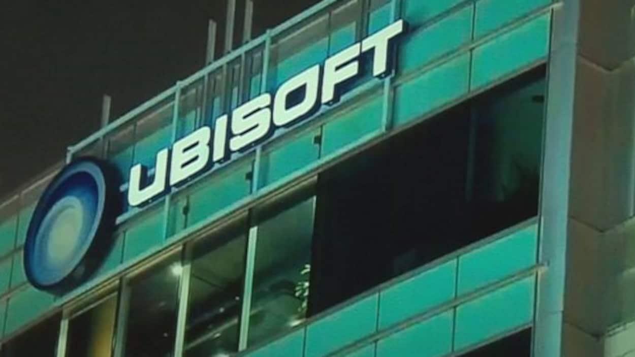 Frontispice de l'édifice Ubisoft Québec