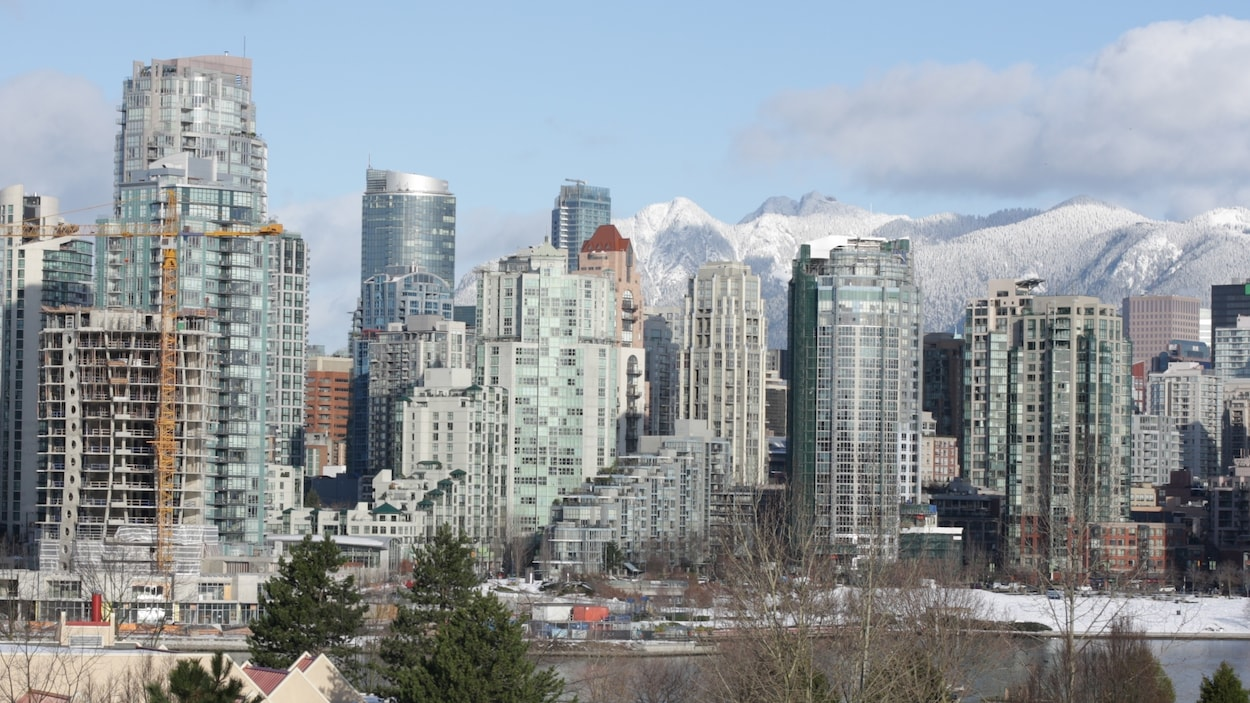 Quelques tours d'habitation à Vancouver