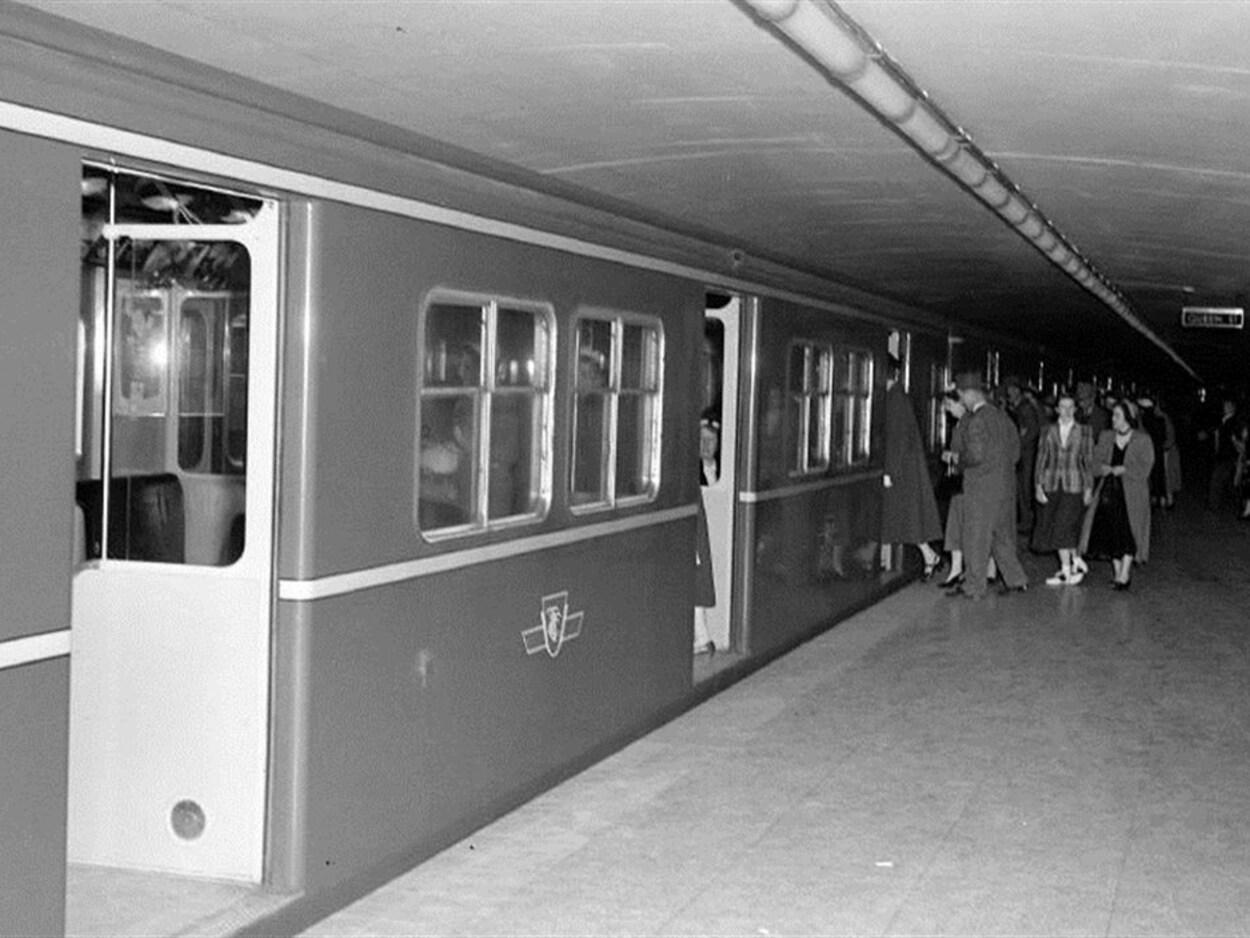 Le métro de Toronto en 1954