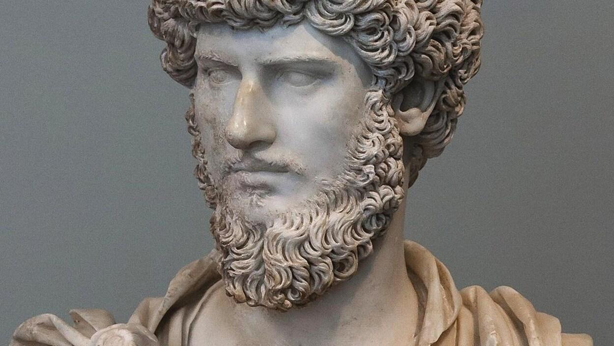 Statue de l'empereur romain Marc Aurèle.