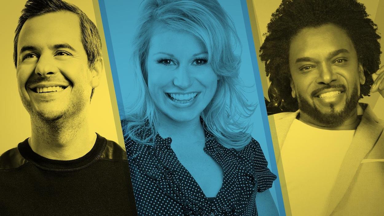 Pierre Hébert, Cathy Gauthier et Anthony Kavanagh sont les têtes d'affiche du Festival d'humour de Gatineau.