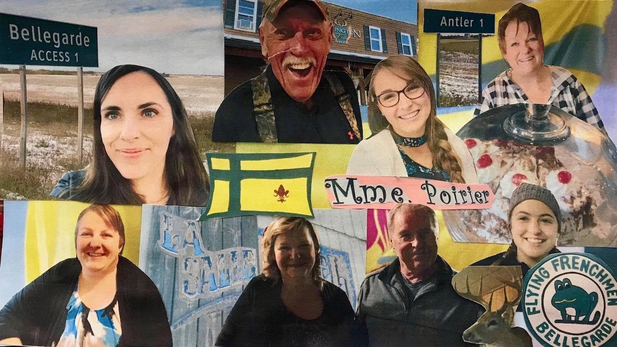Une photo des gens et des endroits visités par Nicole Lavergne-Smith