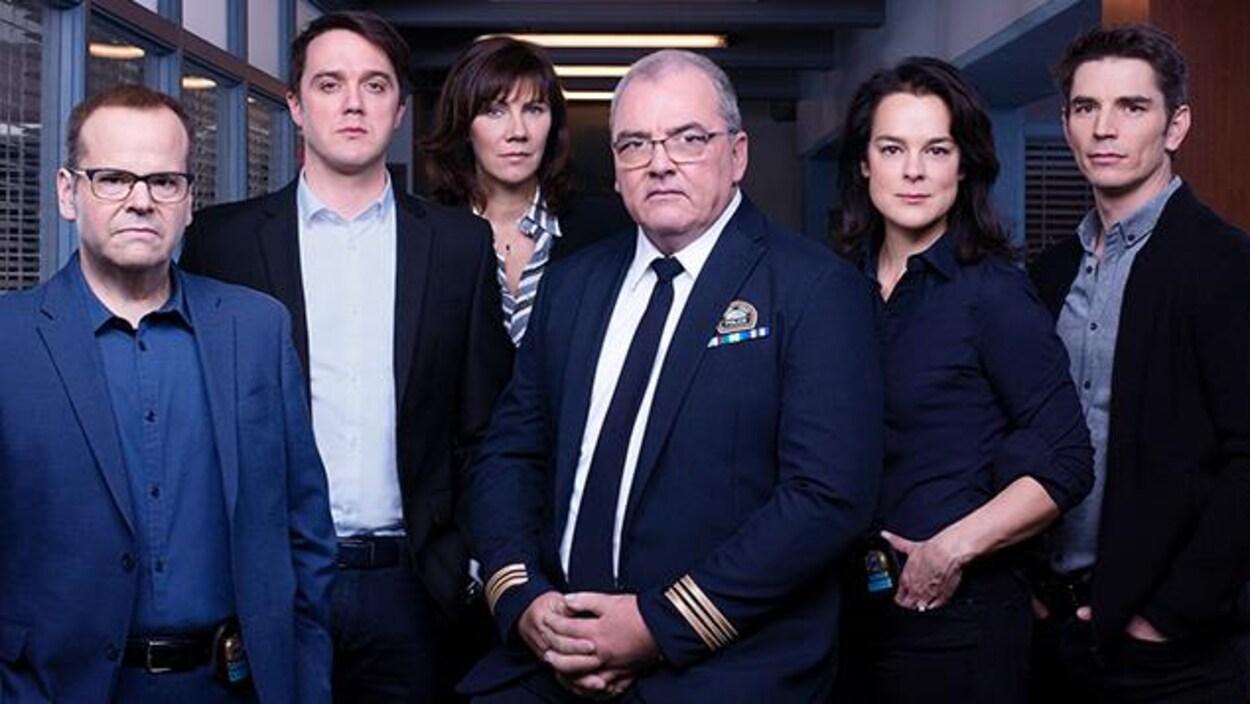 L'équipe d'enquêteurs.