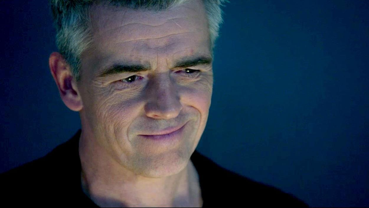 Yannick Dubeau qui sourit.