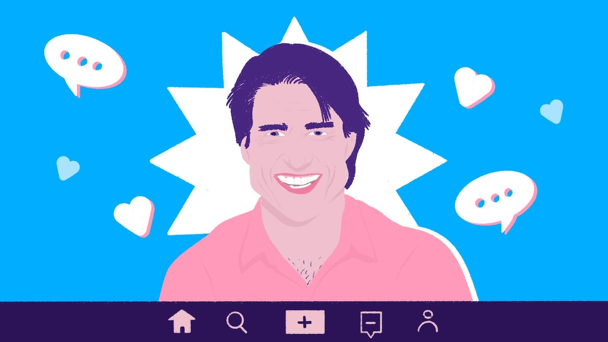 Illustration de Tom Cruise dans l'application TikTok.