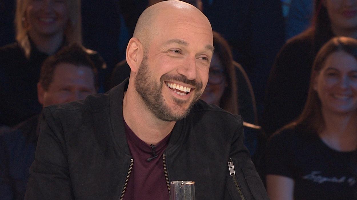 Martin Matte sourit.