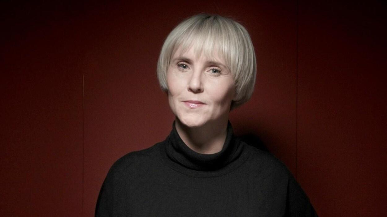 L'animatrice Pénélope McQuade.