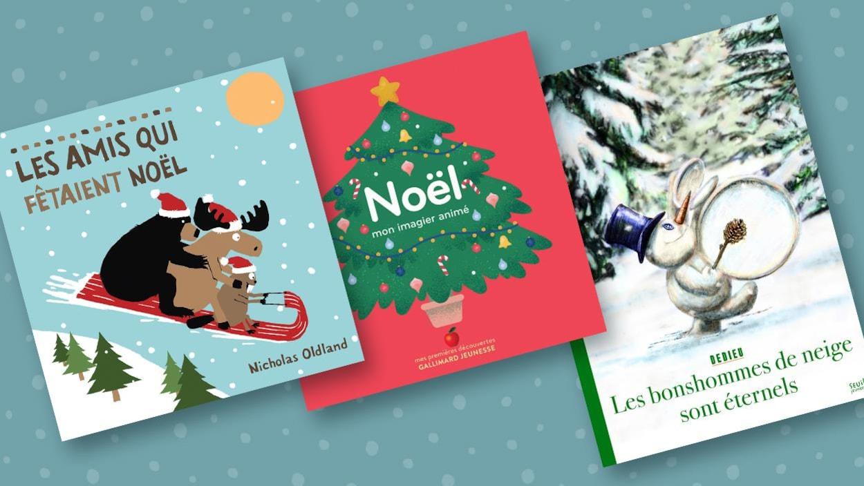 Les amis qui fêtaient Noël, Noël mon imagier animé, Les bonshommes de neige sont éternels.