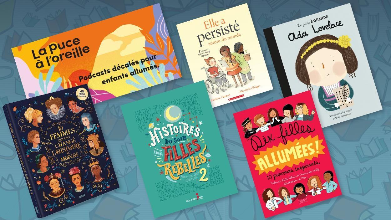 Voici des modèles de femmes créatives, courageuses, audacieuses et novatrices qui ont tenu tête aux préjugés. Ces femmes sauront inspirer les jeunes en leur montrant que tout est possible. À écouter et à lire avec vos enfants.
