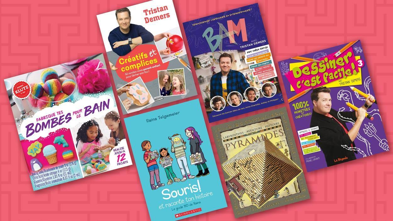 Une sélection de six livres jeunesse