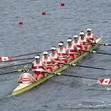 加拿大女子八人賽艇隊奪得東京奧運金牌。