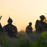 Canadian and American troops on a joint patrol in late June 2011. Afghan-Canadian advisers were critical to the work of both armies during combat operations.