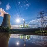 Une centrale à charbon.