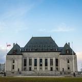 Edificio de la Coste Suprema de Canadá en la capital, Ottawa.