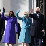 Doug Emhoff, Kamala Harris, Jill Biden et le président désigné Joe Biden.
