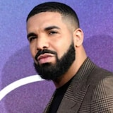 Close up nina The Weeknd at Drake.