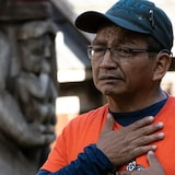Eddy Charlie is a member of the Cowichan First Nation and a survivor of the Kuper Island Residential School off the east coast of Vancouver Island. He is among the survivors who fought to create the National Day for Truth and Reconciliation.
