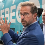 Yves-François Blanchet's Bloc Québécois party appears to be benefitting from voters' response to a tense exchange in the English language leaders' debate last week over Quebec's secularism law and its proposed new law to protect the French language.