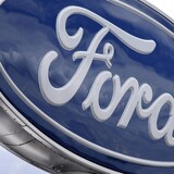 Le logo du constructeur automobile américain Ford.