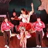 Des danseurs de gigue lors d'un festival.