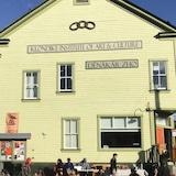 La devanture du de l'institut de l'art et de la culture du Klondike