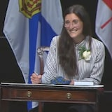 Jill Balser is Nova Scotia's minister of labour, skills and immigration.