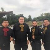 Noel Cedillo Aguilar, Juan Enrique Aranda Andrade, Arturo Almanza y Alejandro Flores, miembros de la Latin Power Band.