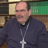 Monseigneur Albert LeGatt, archevêque de l'Archidiocèse de Saint-Boniface