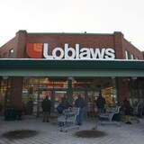 La façade d'un supermarché Loblaws