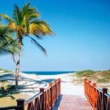Una playa en Varadero, Cuba.