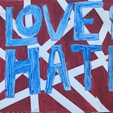 Love over hate.