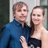 رود بيكر وزوجته إكاترينا.